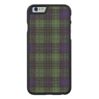 Lumbard clan Plaid Scottish kilt tartan Carved® Maple iPhone 6 Slim Case