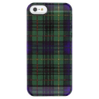 Lumbard clan Plaid Scottish kilt tartan Clear iPhone SE/5/5s Case
