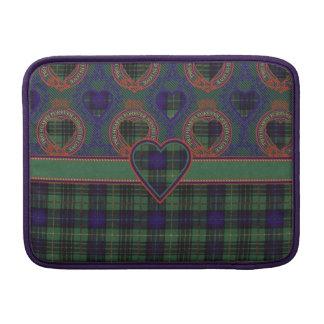 Lumbard clan Plaid Scottish kilt tartan MacBook Air Sleeve