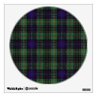 Lumbard clan Plaid Scottish kilt tartan Wall Sticker