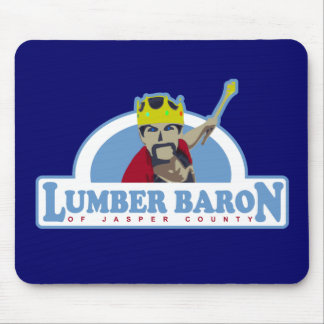 Lumber Baron Logo Mouse Pad