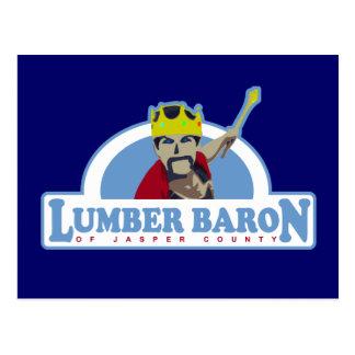 Lumber Baron Logo Postcard