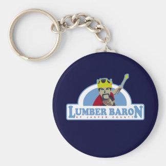 Lumber Baron of Jasper County Keychain