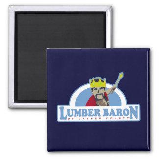 Lumber Baron of Jasper County Magnet