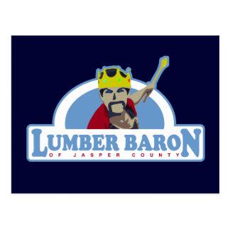 Lumber Baron of Jasper County Postcard