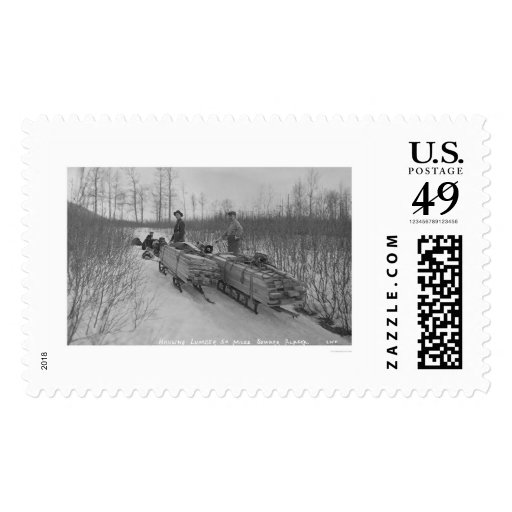 Lumber Dog Seward, Alaska 1917 Postage Stamps