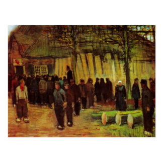 Lumber Sale by Vincent van Gogh Postcard