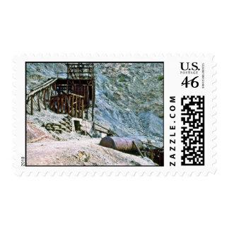 Lumber Yard In Hongeun-Dong Postage Stamp