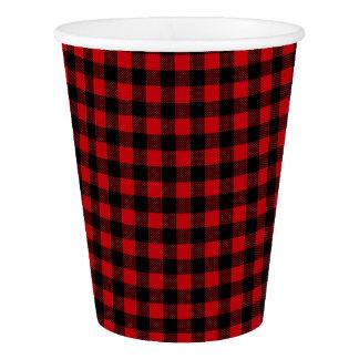 Lumberjack Buffalo Plaid Paper Cup