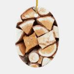 Lumberjack Christmas Tree Ornaments