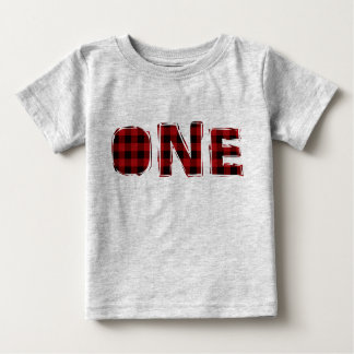 Lumberjack First Birthday T Shirt