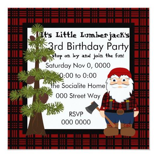 Lumberjack Gnome Card