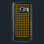 "Lumberjack Print Yellow Black Winter Buffalo Plaid OtterBox Samsung Galaxy S7 Case<br><div class=""desc"">This yellow and black lumberjack print will keep you in plaid all year.</div>"