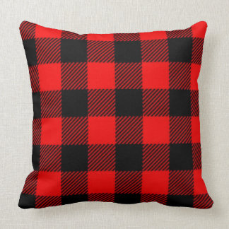 Lumberjack Style - red fabric + your ideas Pillow