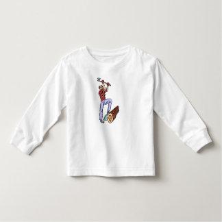 Lumberjack Toddler T-shirt