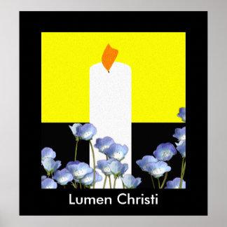 Lumen Christi Poster