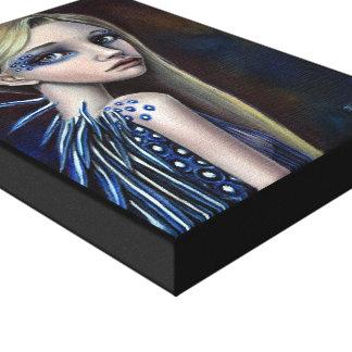 Lumi Stretched Canvas Print