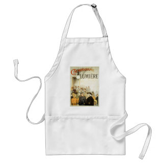 Lumière Brothers Cinema Poster Adult Apron