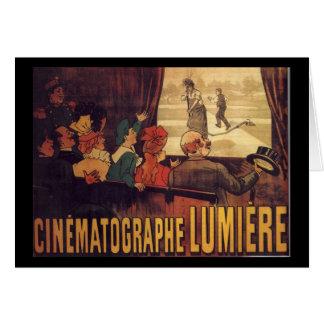 Lumière cinema poster card