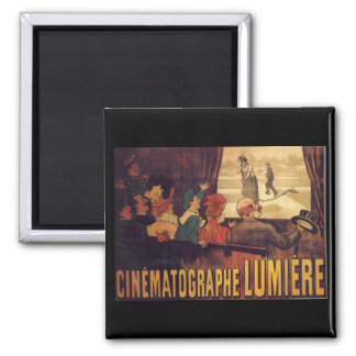 Lumière cinema poster magnet