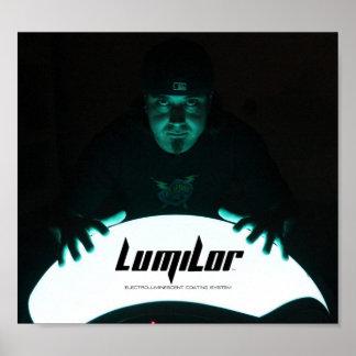 LumiLor Fender Poster