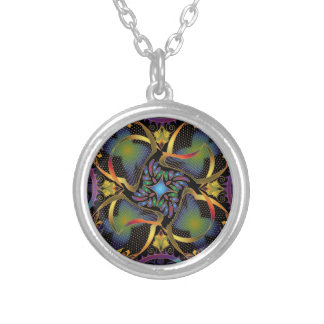 Lumina Collection Medallion by Peggy Toole Round Pendant Necklace