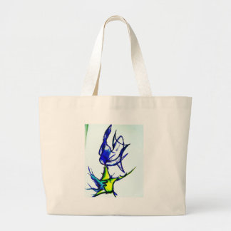 Luminal Fluxion by Luminosity Large Tote Bag
