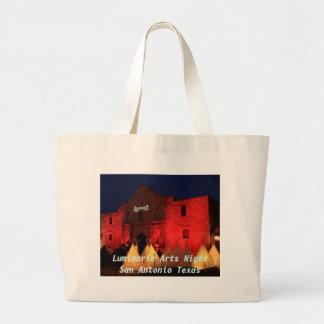 Luminaria Arts San Antonio Texas Large Tote Bag