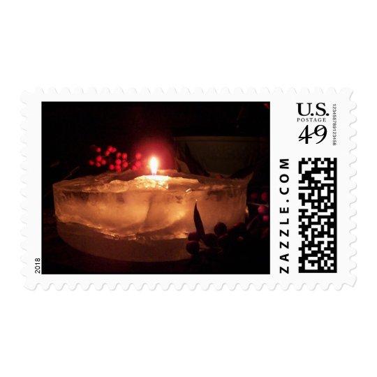 Luminaria holiday stamp