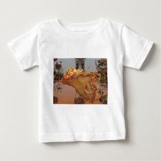 """Luminescence"" 3D fractal art, agate and brass Shirts"