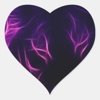 Luminescence Heart Sticker