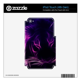 Luminescence iPod Touch 4G Skin