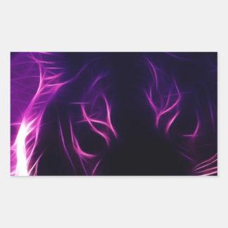 Luminescence Rectangular Sticker