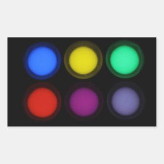 Luminescence Rectangle Sticker