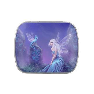 Luminescent Fairy & Dragon Art Candy Tin