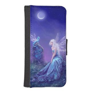 Luminescent Fairy & Dragon Art iPhone Wallet Case