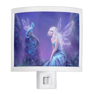 Luminescent Fairy & Dragon Art Night Light