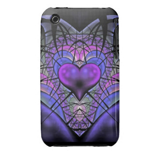 Luminescent Heart iPhone 3 Case