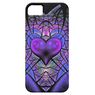 Luminescent Heart Fractal iPhone 5 Case