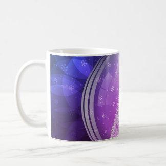 Luminescent snow globe mugs