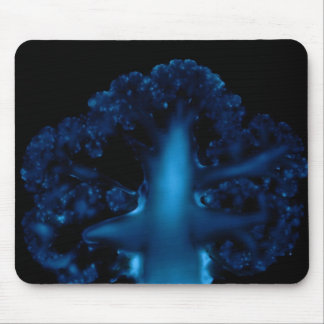 Luminol and the cauliflower structure mousepad
