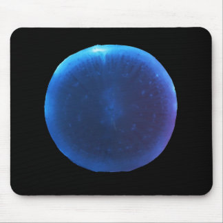 Luminol on a radish mousepad