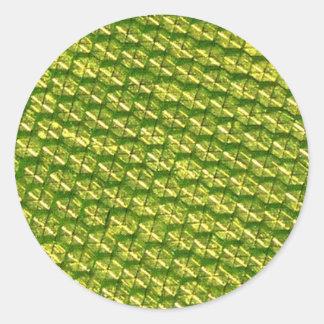 Luminosity Round Stickers