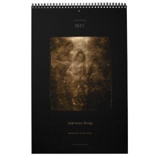 luminous being - tim lowly photoworks wall calendar