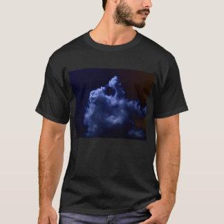 Luminous Blue Chaotic Cumulus 2 by KLM T-Shirt