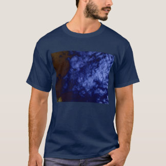 Luminous Blue Clouds&Negative Branches by KLM T-Shirt