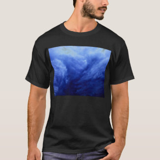 Luminous Blue Mammatus Clouds 2 by KLM T-Shirt