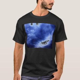 Luminous Blue Storm Clouds by KLM T-Shirt