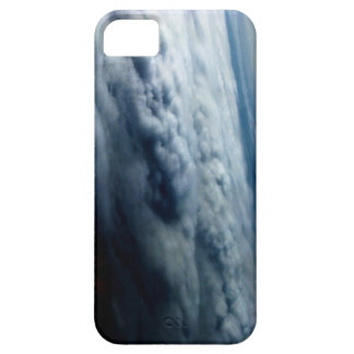 Luminous Blue&White Oceanic Jet Stream by KLM iPhone 5 Cases