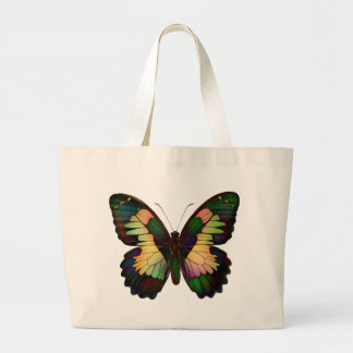 Luminous Butterfly Totebag Canvas Bag